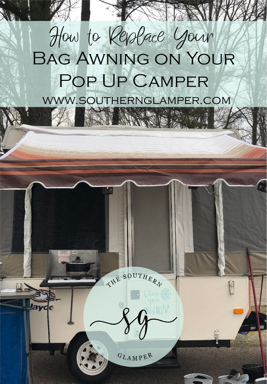 Replace Your Bag Awning On Your Pop Up Camper Pop Up Tent Trailer Camper Awnings Popup Camper