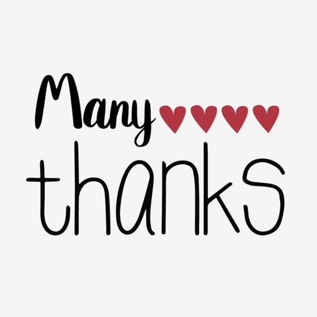 Download Red Love Thank You Very Much Simple Phrase Svg in 2020 ...
