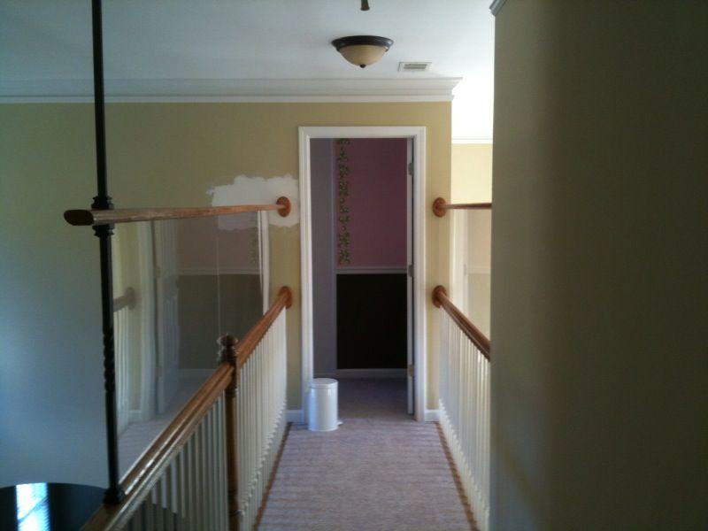 high interior balcony railing ideas - Google Search | Garage stairs ...