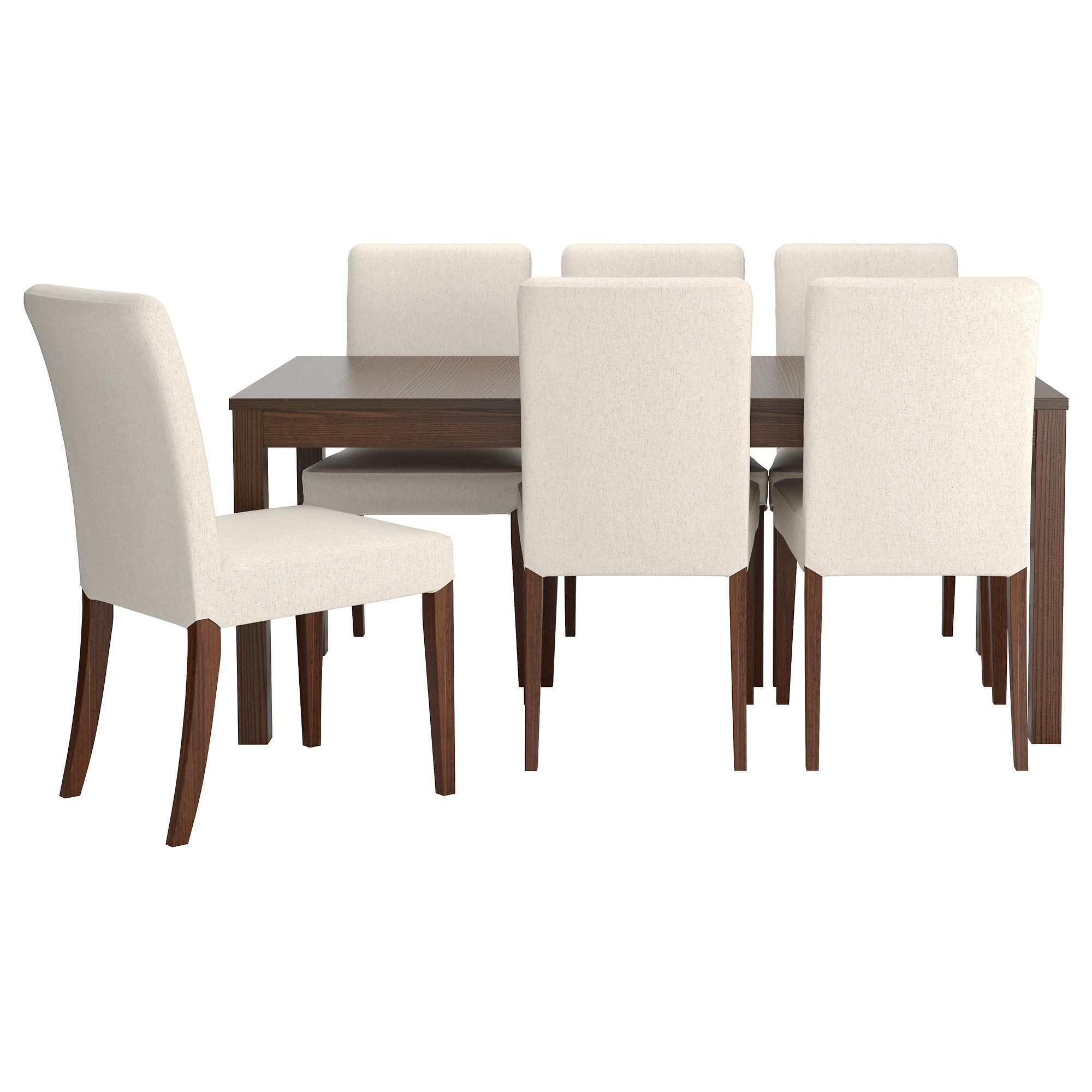 Or This Table And Chairs Bjursta  Henriksdal Table And 6 Chairs Impressive Small Dining Room Sets Ikea Design Decoration