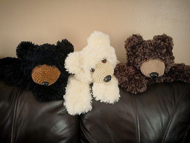 Faux Bear Skin Nursery Rug Pattern By Crochet By Jennifer Bear Skin Rug Rug Pattern Crochet Bear