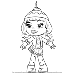 How To Draw Candlehead From Wreck It Ralph Drawings Wreck It Ralph Coloring Books