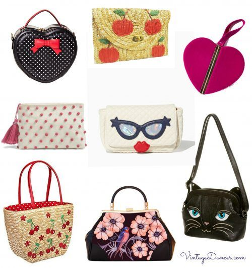 20191126e4a8 1950s inspired handbags. Fun shapes