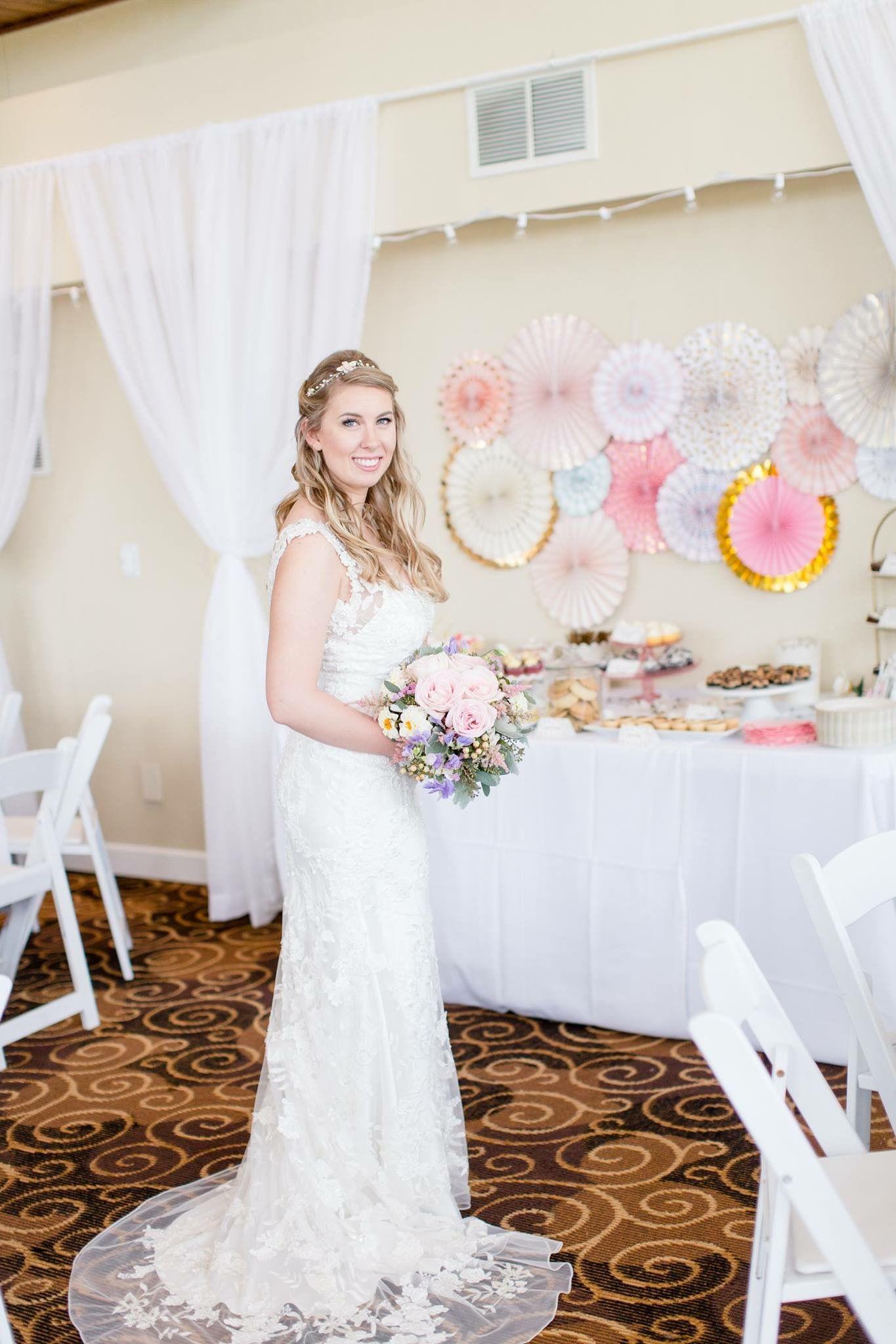 Dresses for summer wedding reception  Bridal gown  Roome Wedding  Pinterest  Purple garden Garden