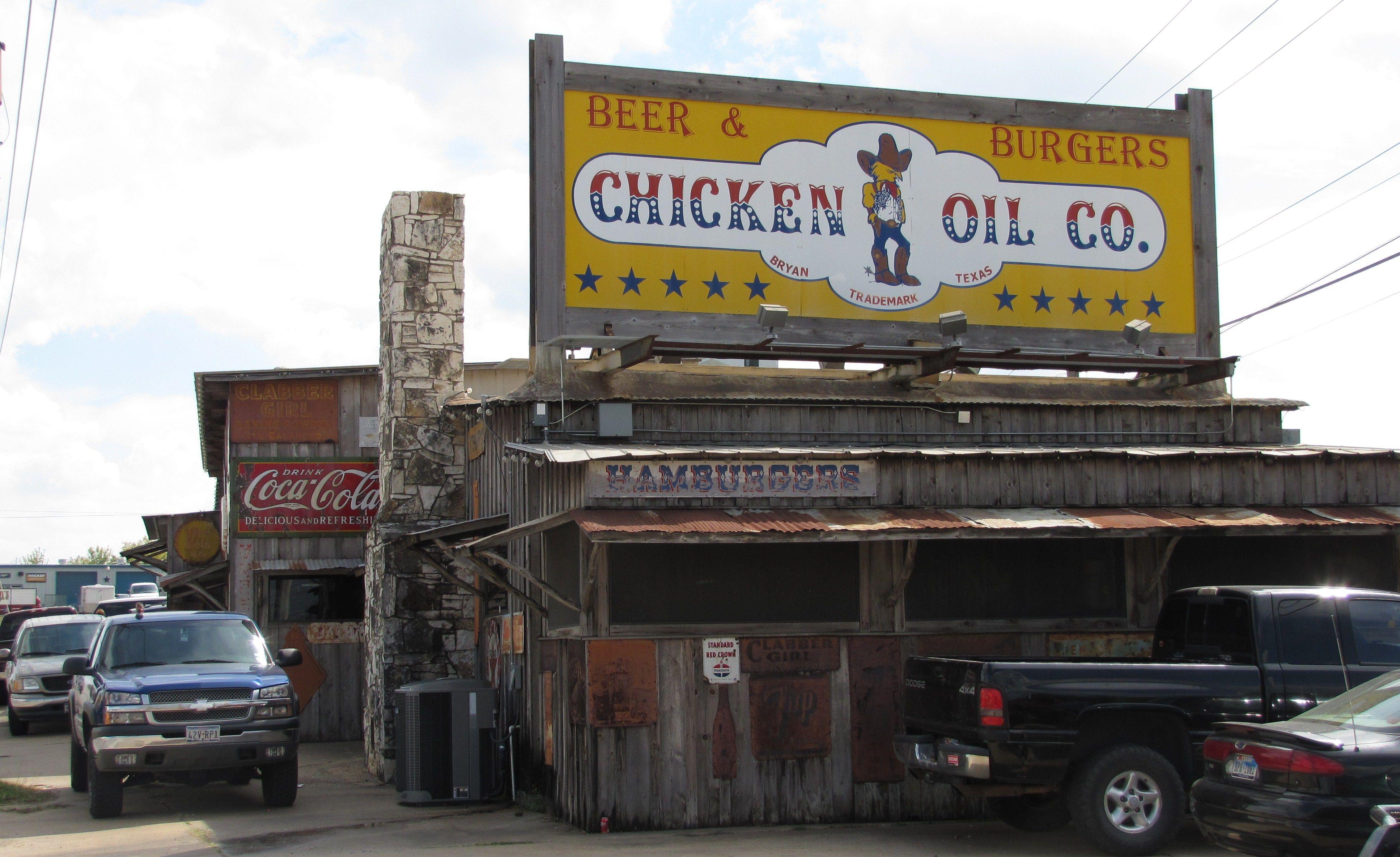 Chicken Oil Co. Bryan, Texas College station, Bryan