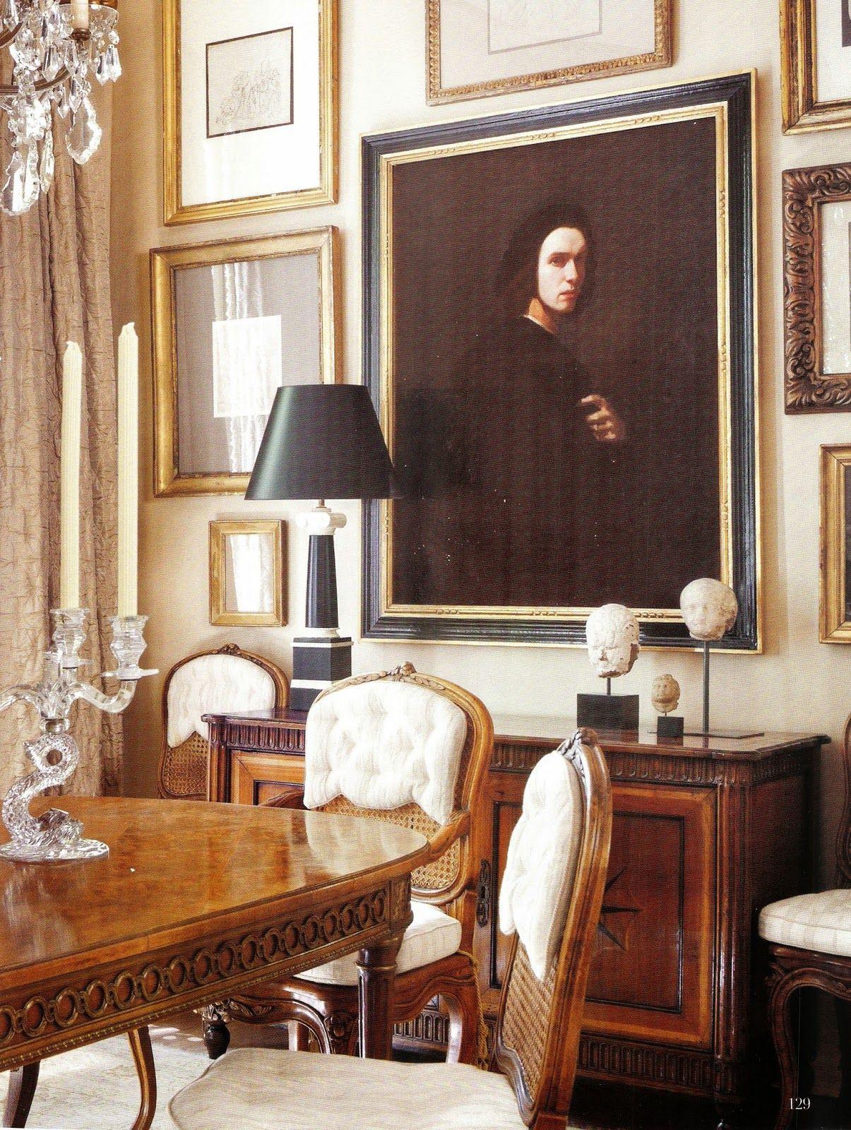 LOUIS XVI Dining Room Table. LK. A Flippen Life: Gerrie Bremermann