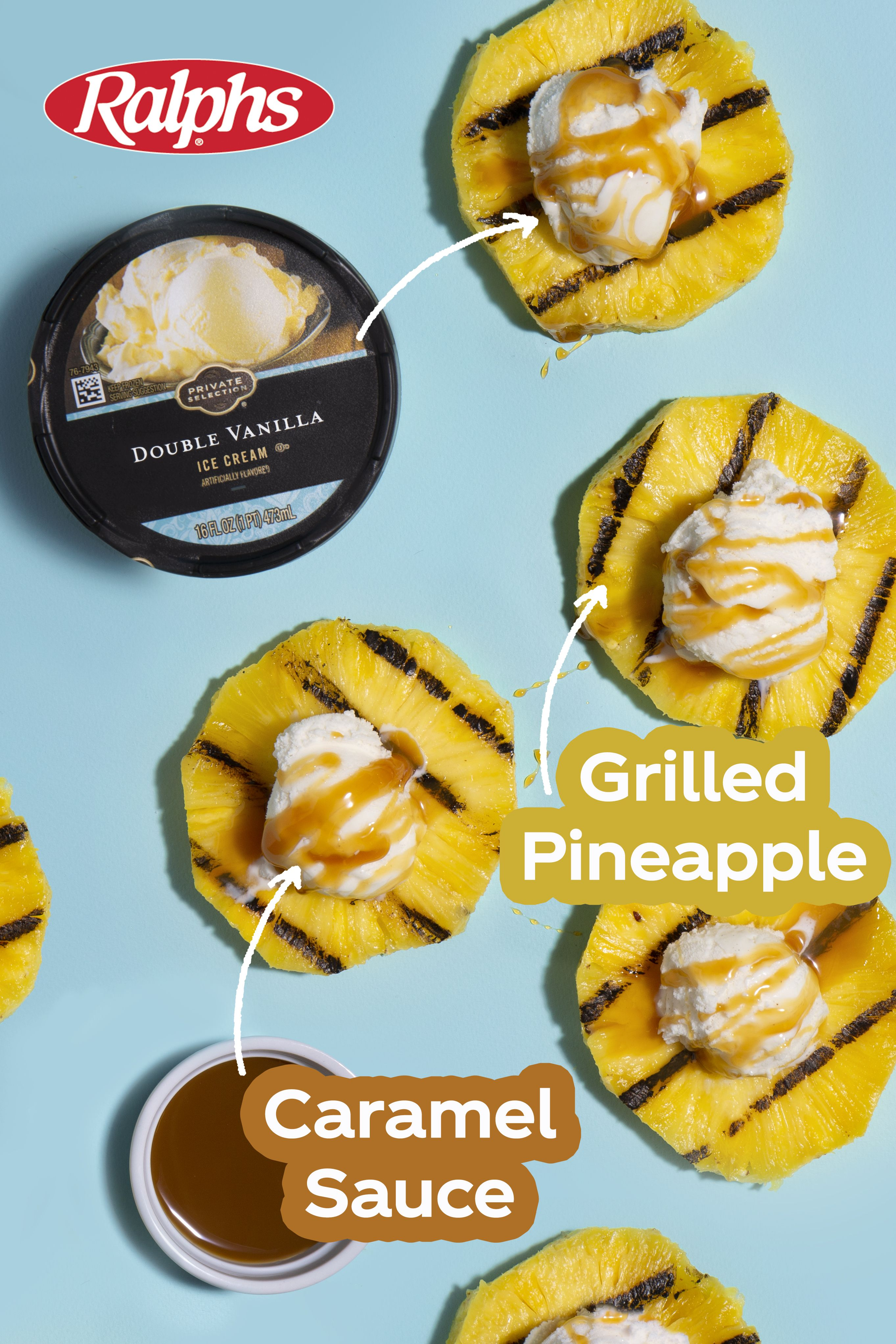 The Freshest Summer Calls For Grilled Pineapple With Ice Cream Caramel Add A Fresh Summer Twist To Summer Grilling Recipes Summer Recipes Light Summer Meals