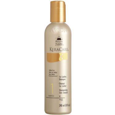 KeraCare 1st Lather Shampoo Sulfate-Free 8 Ounce