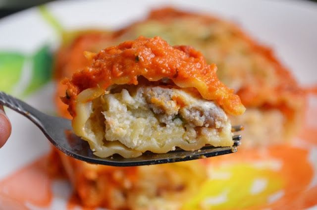 For the Love of Dessert: Italian Sausage Manicotti
