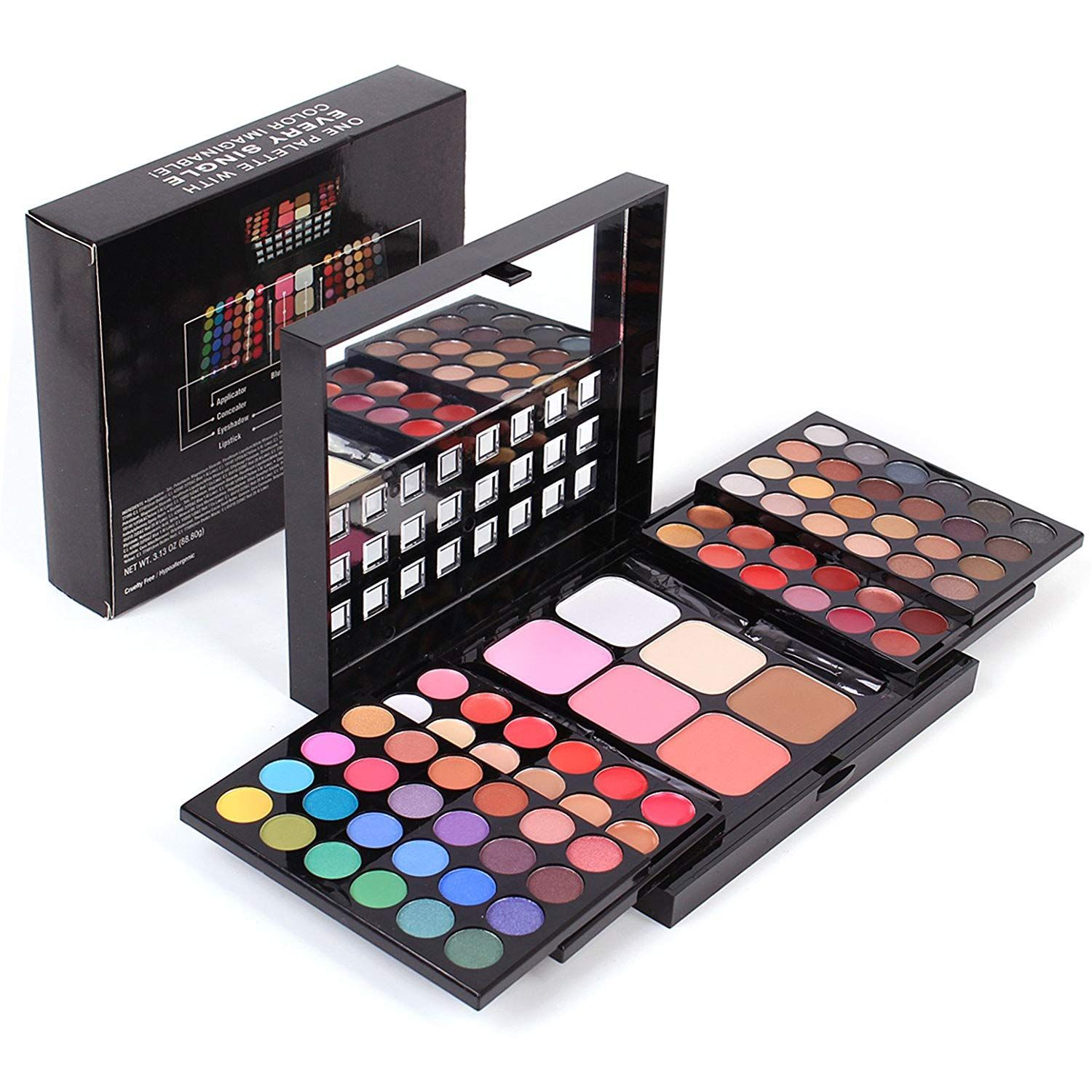 Fantasyday Pro Makeup Gift Set All In One Makeup Kit Cosmetic Contouring Kit 78 Colors In 2020 Makeup Kit Makeup Gift Sets Makeup Gift