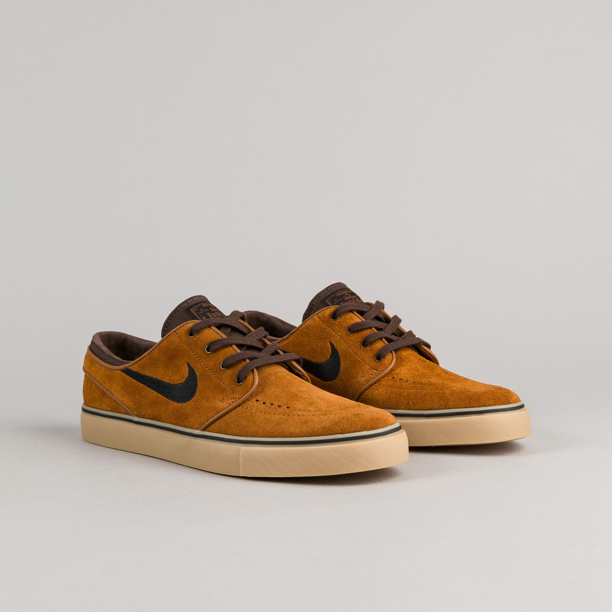e41f9e23ee97 Nike SB Stefan Janoski Shoes - Hazelnut   Black - Baroque Brown - Gum Light  Brown