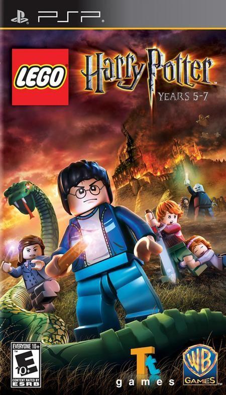Lego Harry Potter Years 5 7 Psp Eur Espanol Descargar Juegos
