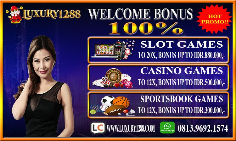 Welcome Bonus 100% | Slots, Kasino, Permainan olahraga