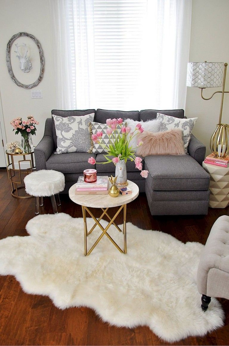 65 Comfy Living Room Ideas For Small Apartments Small Li