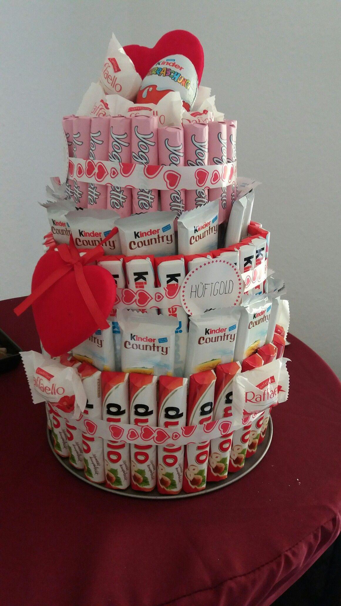 SigkeitenTorte KinderTorte zum Geburtstag CandyBar
