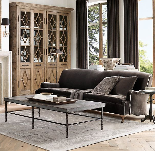 bluestone coffee table. Rowen Bluestone Rectangular Coffee Table. Good Table, Dimensions Are Off: 67\ Table