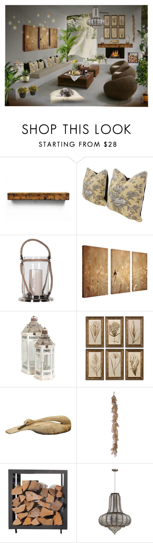 """Sin título #376"" by yblacasa on Polyvore featuring interior, interiors, interior design, hogar, home decor, interior decorating y Uttermost"