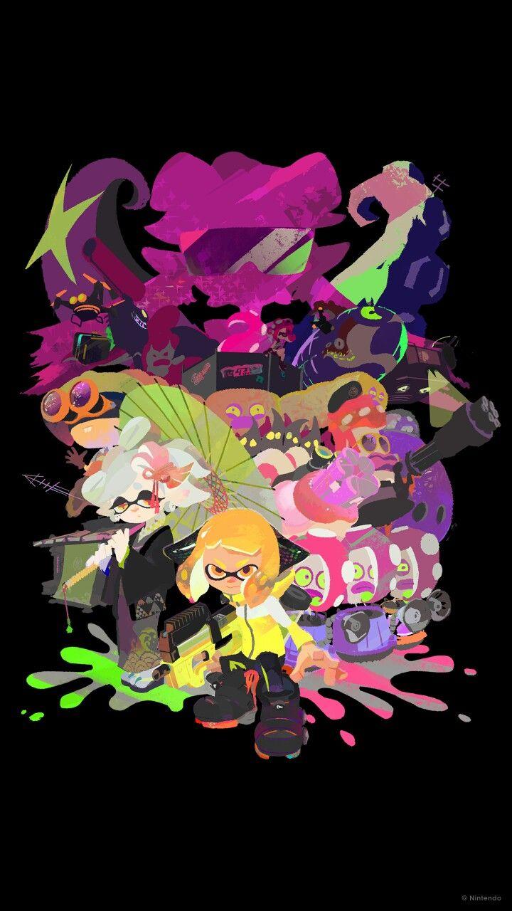 Inkling Story Mode Splatoon 2 HD Wallpaper (Nintendo