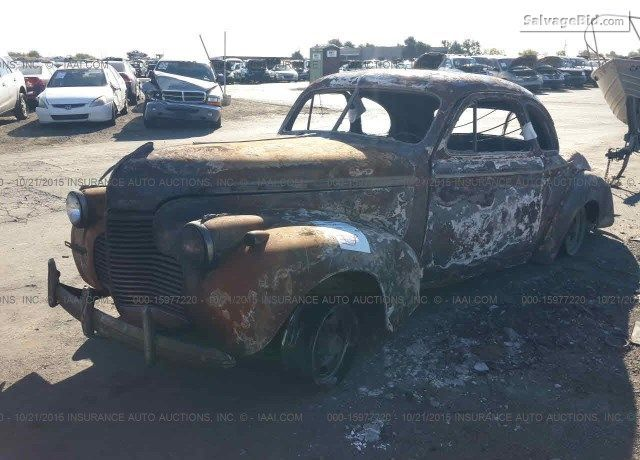 This 1940 Chevrolet Classic 3616142 Is Located In Rancho Cordova California 95742 It Was Fire Damaged But We See Potential Chevrolet Classic Cars Classic