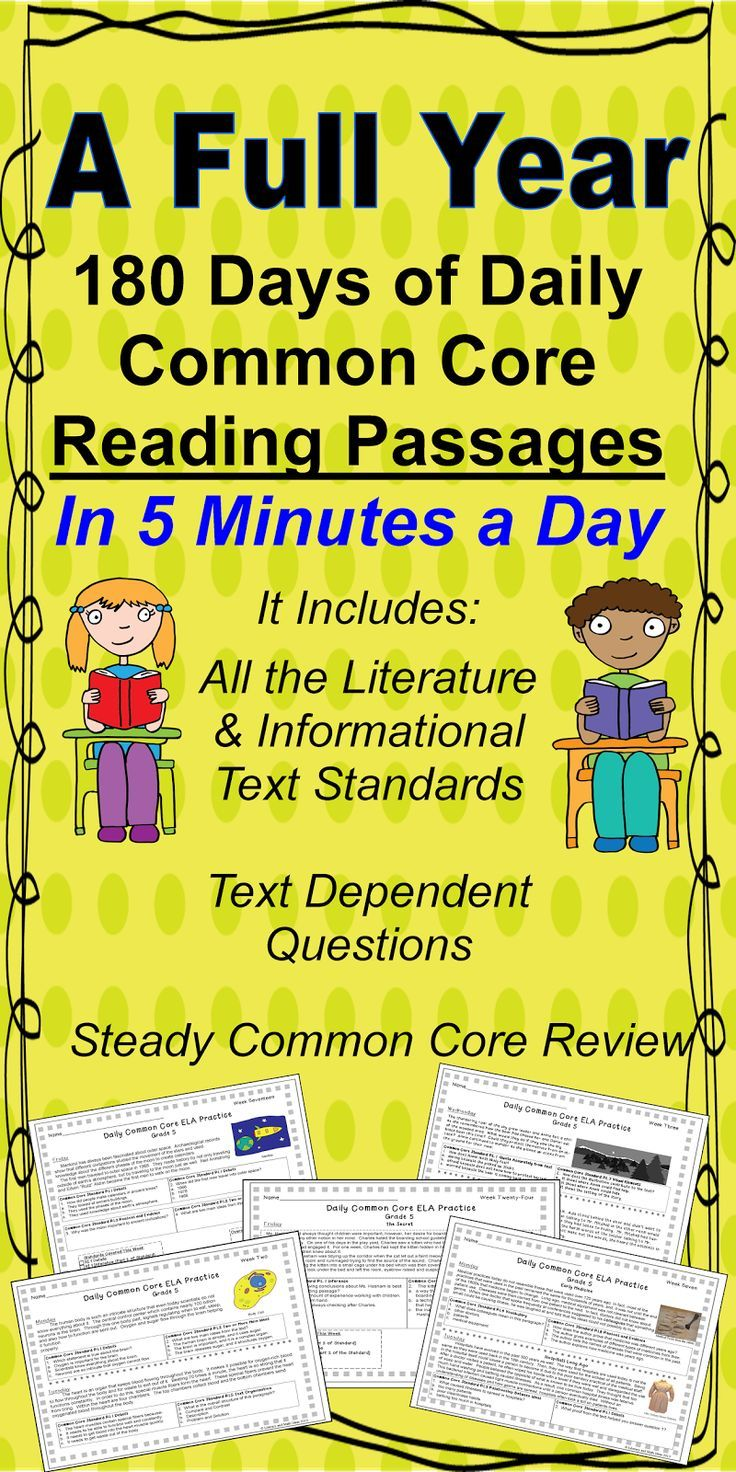 180 Different Common Core Aligned Passages for Quick and Daily Morning Review~  The Pony Express, The Inca, Plants, Historical Fiction, Poetry, Plays and More are Included.  Many of the standards repeat across the weeks to provide STEADY Common Core review. Multiple choice, short written response, and close reading question types are all included. $