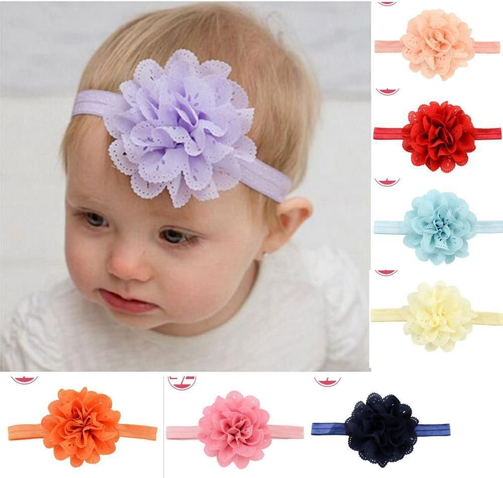 Hair accessories for babies ebay - Find This Pin And More On _ Ebay Baby Girls Hairband Flower Hairband Soft Elastic Band Headband Hair Accessories