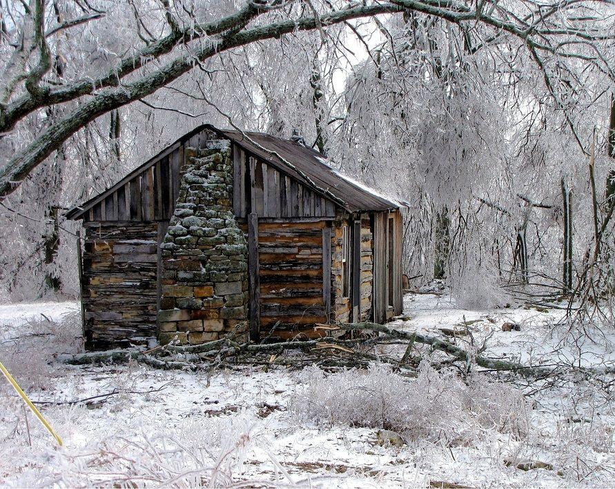 Old Cabin For Love Rustic Living Pinterest Cabin