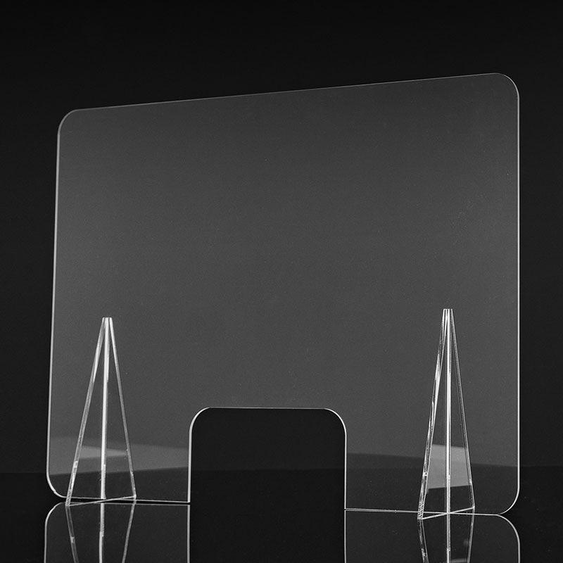 Pantalla Divisoria para Suelo Separaci/ón para Peluquer/ías Hoteles Fabricas Oficinas Gimnasios Transparente PVC Protector De Pantalla para Estornudos JIZHENG Mampara Protectora Enrollable