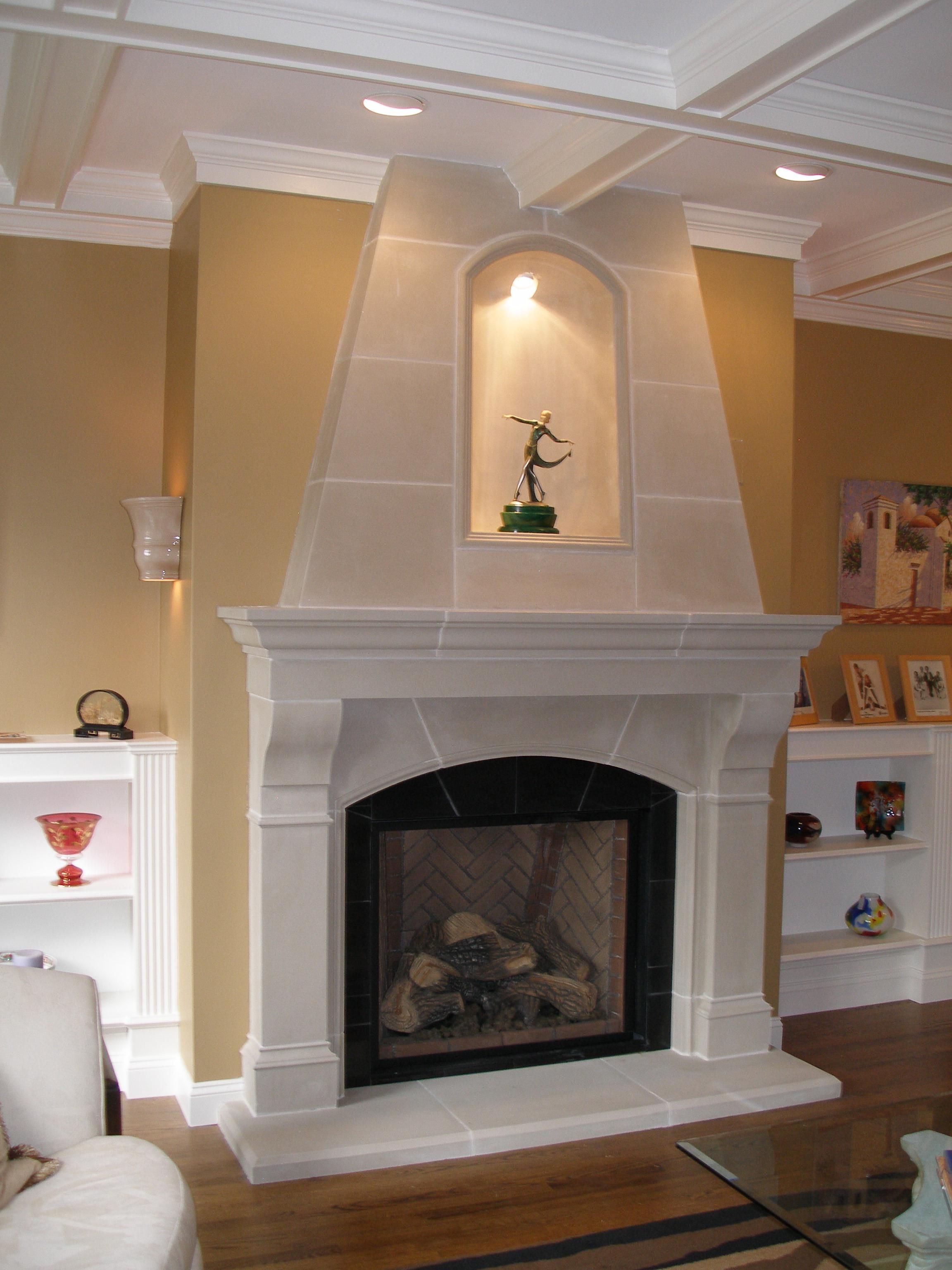 fireplaces stone stark cast fireplace