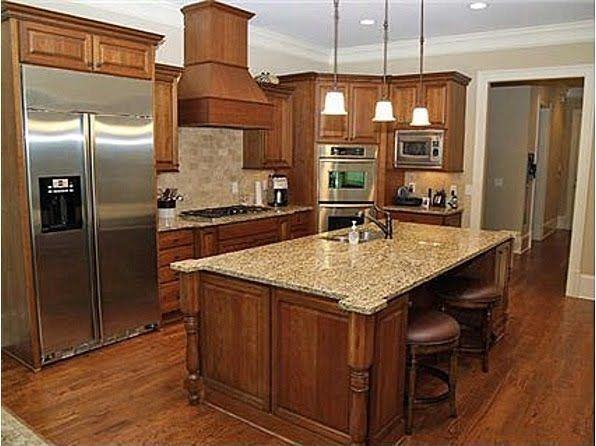 Love That Cinnamon Maple Kitchen Cabinet Color And The