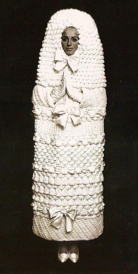 Extreme Modest Bride Weird Wedding Dress Unusual Wedding Dresses Funny Wedding Dresses