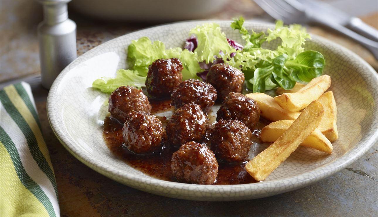 Pin De Ll Koler En Recetas Recipes Rezepten Salsa De Mostaza Y Miel Salsa De Mostaza Albóndigas Vegetarianas