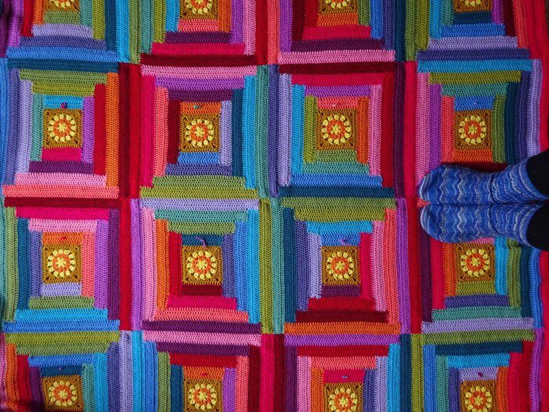 Dsc01461 Crochet Blanket Edging Crochet Knitted Blanket Squares