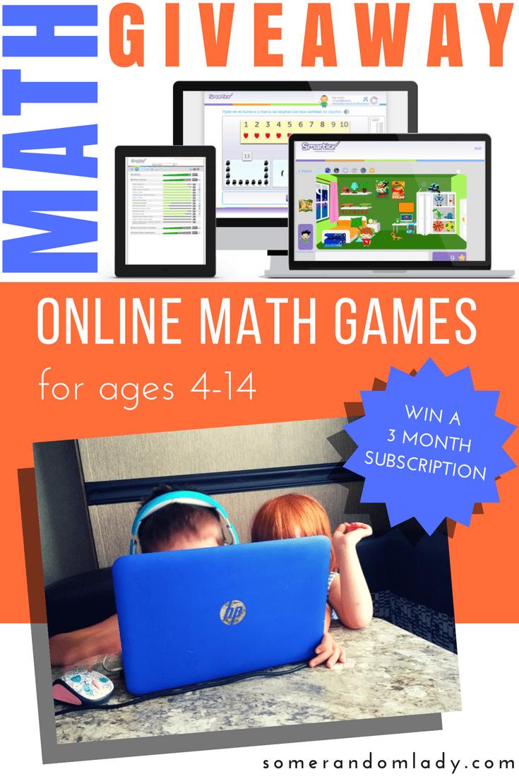 Online Math Games Giveaway with Smartick Method | Homeschool ...
