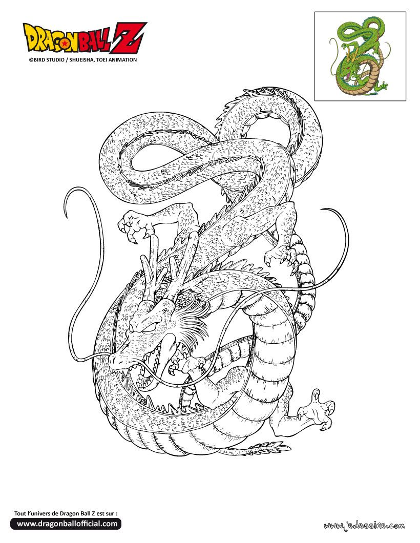 coloriage dragon ball z Coloring Pages Dragons Reptiles