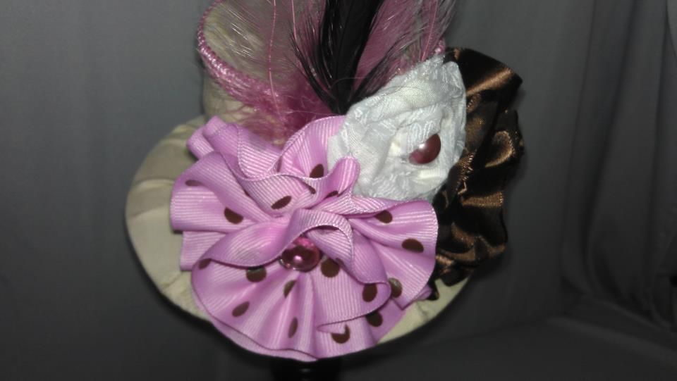 ...The First Mini Top Hat I made...for my Sweet Little Amber Nicole...Uniquely Cute Treasures...