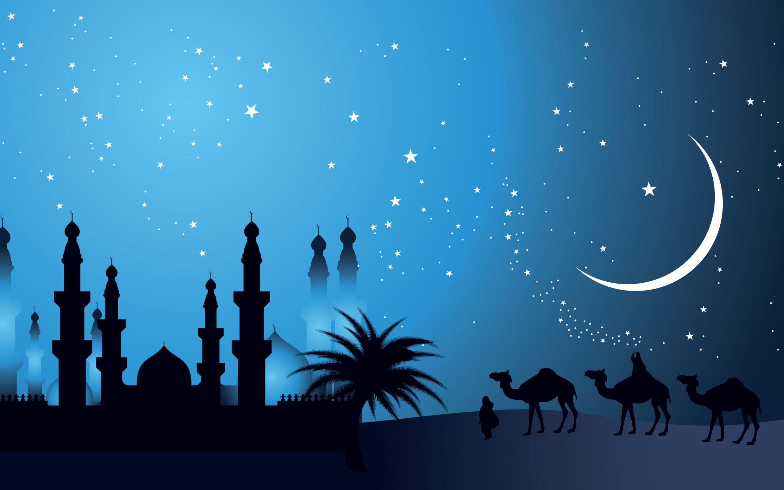 Islamic Wallpaper Latar Belakang Spanduk Mesjid