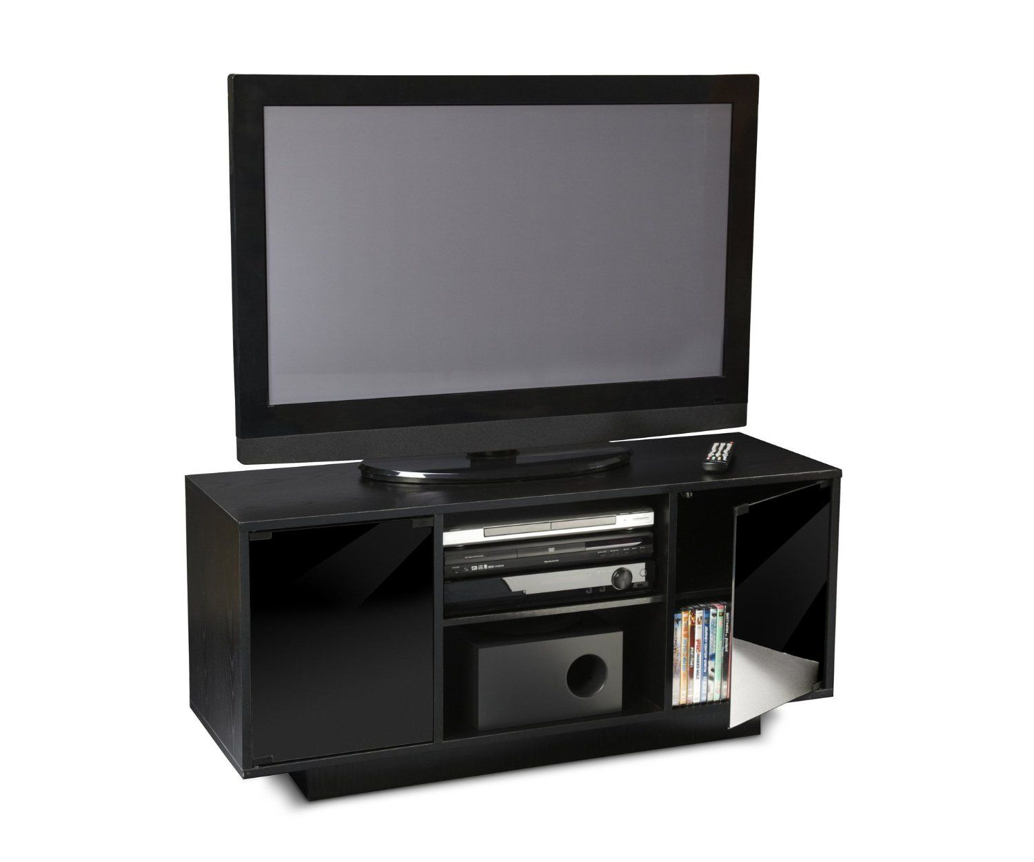 Amazoncom Convenience Concepts 9726 Monte Carlo Tv Stand For Flat