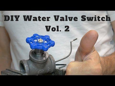 Diy water valve switch vol youtube shit illuminazione
