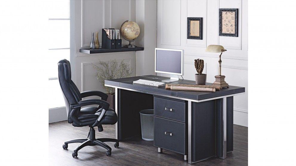Brighton Desk Set Desks Suites Home Office Furniture Outdoor Bbqs Harvey Norman Australia