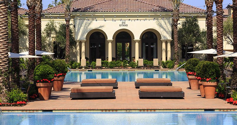 The Pool At Los Olivos Apartments Irvine Ca