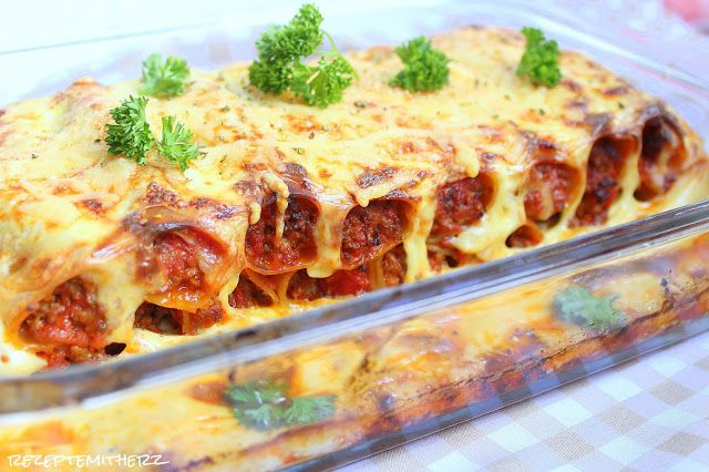 Rezepte mit Herz ♥ Cannelloni ♡ Pasta Pinterest