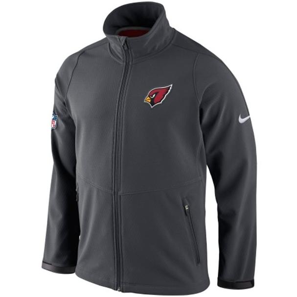 Men's Arizona Cardinals Nike Charcoal Sphere Hybrid Jacket #AZCardinals #NFLStyle