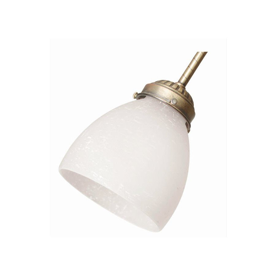 4 625 In W White Linen Dome Ceiling Fan