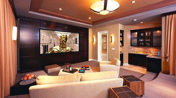 9 Awesome Media Rooms Designs Media Room Design Home Theater Design Home Theater Rooms