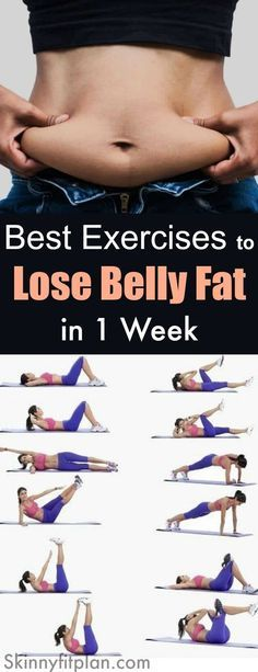 Best Exercises to Lose Belly Fat in 1 Week: 9 Ab Workouts that Work