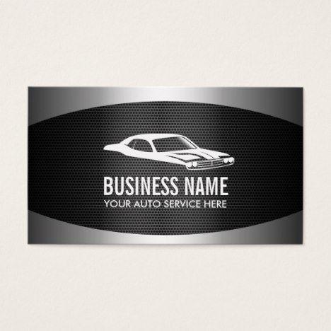 Professional metal background car automotive business card professional metal background car automotive business card reheart Choice Image
