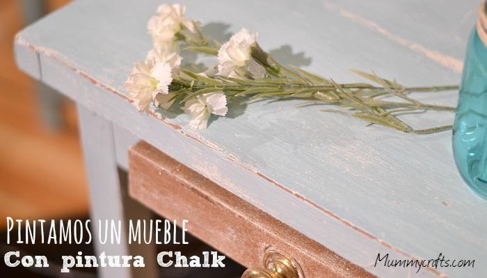 C mo pintar un mueble con pintura a la tiza chalk paint - Como pintar con pintura a la tiza ...