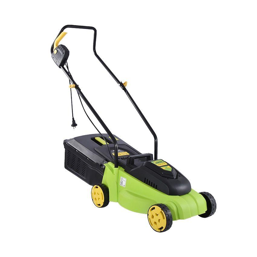 1500 W Electric Lawn Mower Garden Hand Push Reel Mowers Multi Brush Cutter Artificial Grass Trimmer Weeding Machine 1500 Electri Lawn Mower Reel Mower Mower
