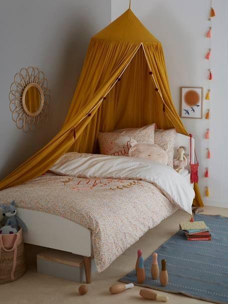 Rideau ciel de lit moutarde - Vertbaudet | Home decor, Kids ...