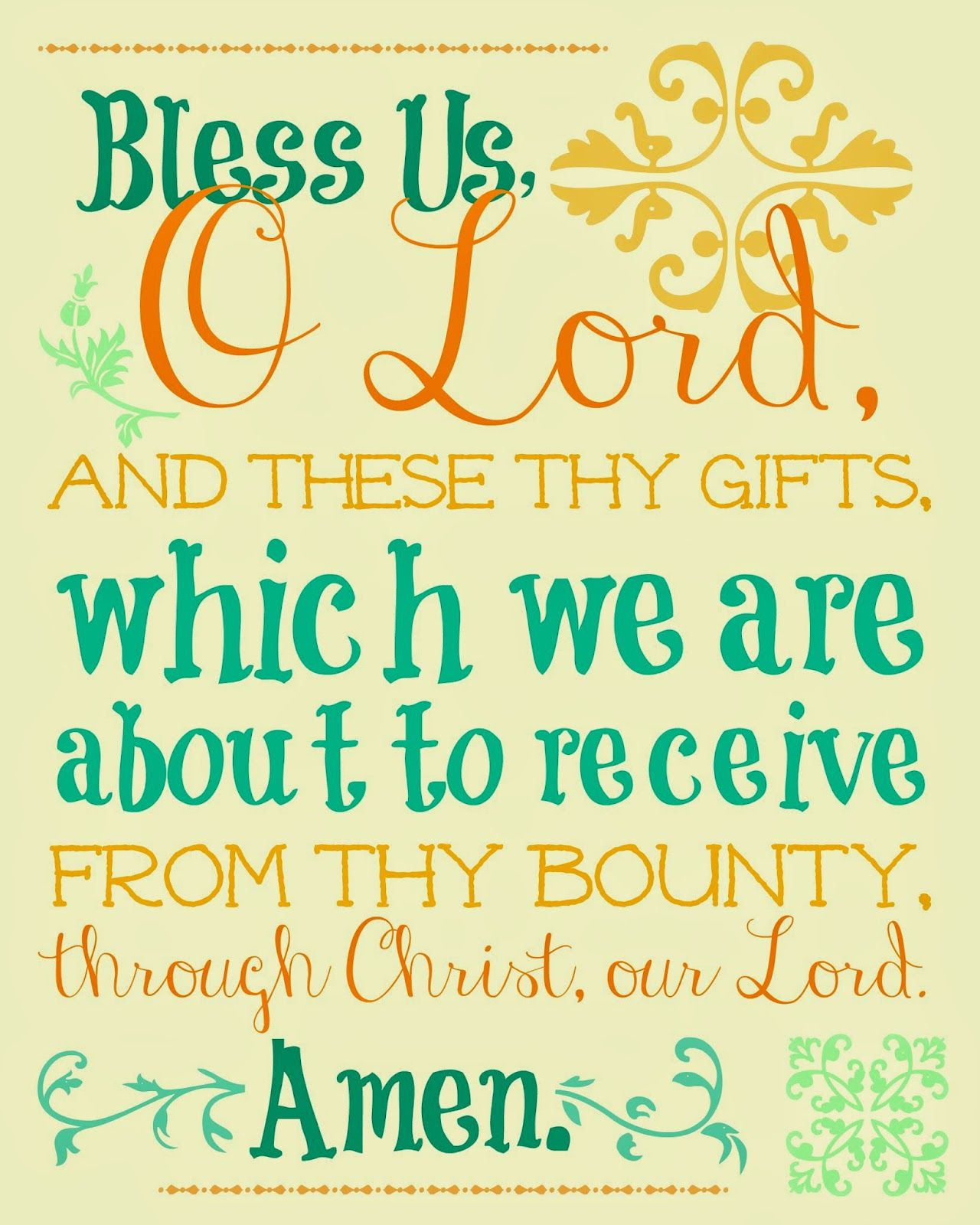 Free Printable Prayers for Your Printing and Praying Pleasure, and a ...